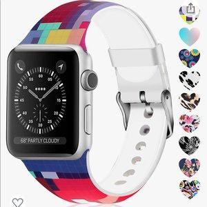 Lwsengme Apple Watch Band Compatible w/ 42 & 44mm